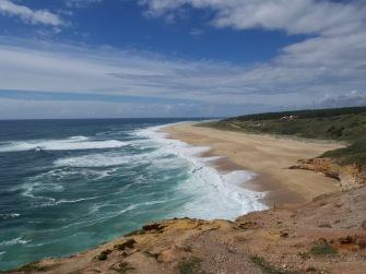 Nazaré's North Beach